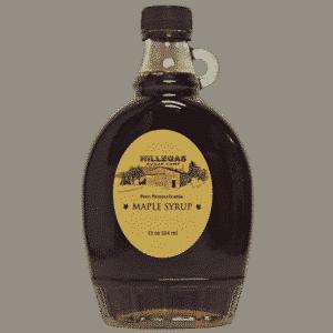 hillegas sugar camp 12 oz bottle maple syrup