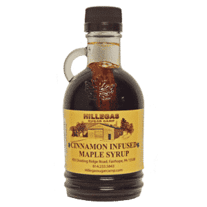hillegas sugar camp cinnamon infused maple syrup