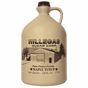 hillegas sugar camp gallon maple syrup