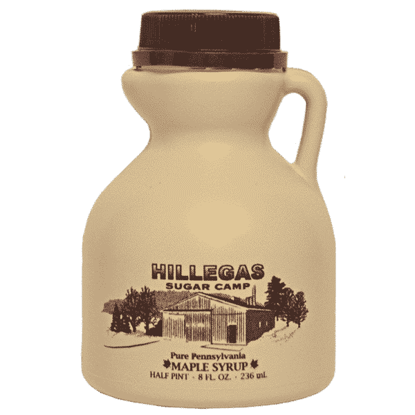 hillegas sugar camp half pint maple syrup