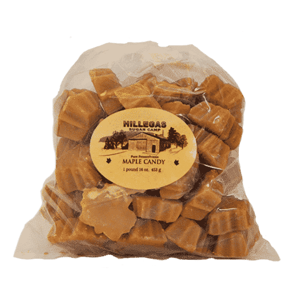 hillegas sugar camp maple candy pound