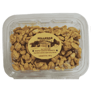 hillegas sugar camp maple coated peanuts pound