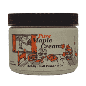 hillegas sugar camp maple cream half pound