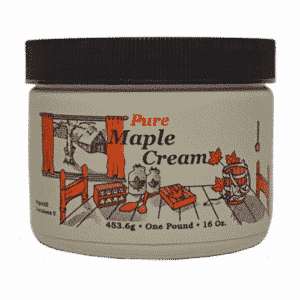 hillegas sugar camp maple cream pound