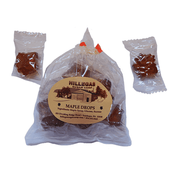 hillegas sugar camp maple drops