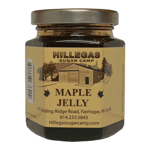 hillegas sugar camp maple jelly