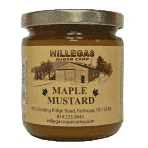 hillegas sugar camp maple mustard
