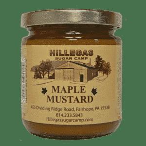 hillegas sugar camp maple mustard