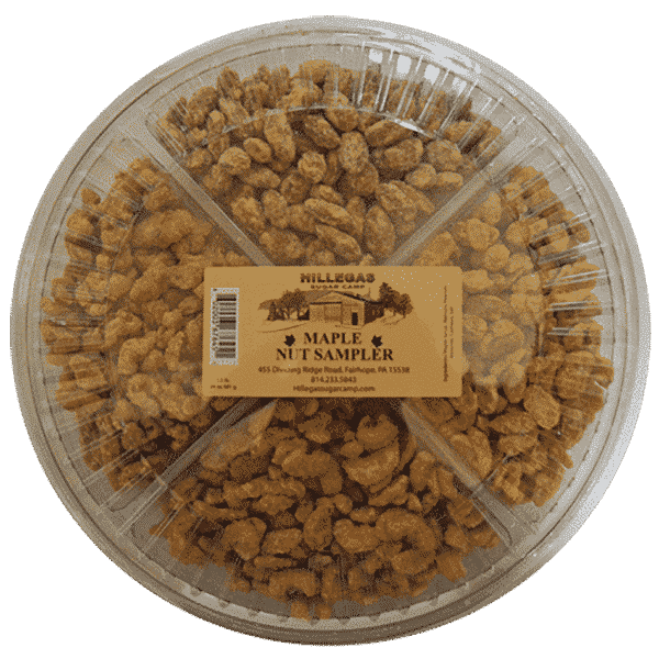 hillegas sugar camp maple nut sampler