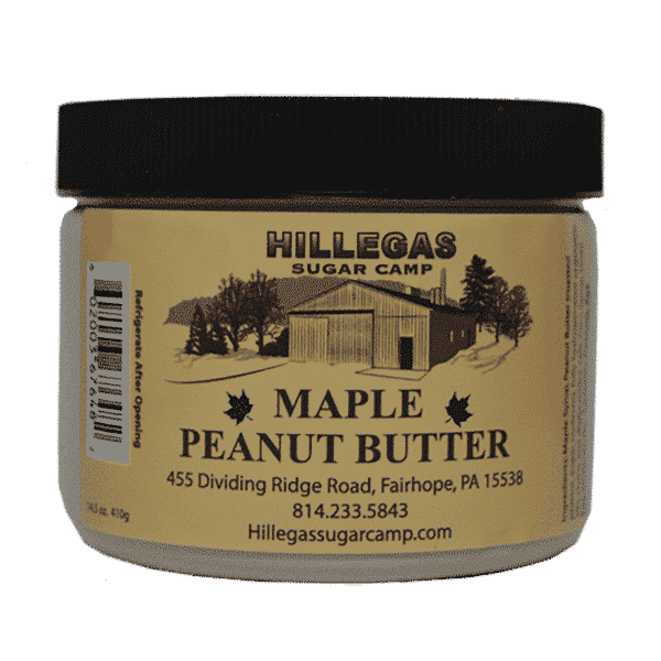 hillegas sugar camp maple peanut butter