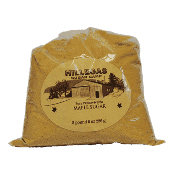 hillegas sugar camp maple sugar half pound