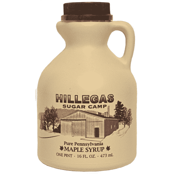 hillegas sugar camp pint maple syrup