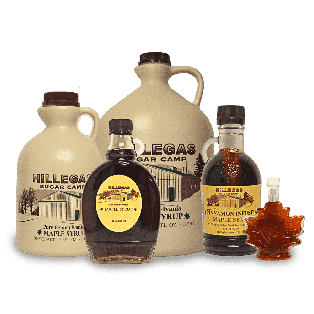 hillegas sugar camp pure maple syrup