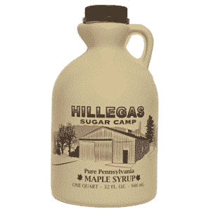 hillegas sugar camp quart maple syrup